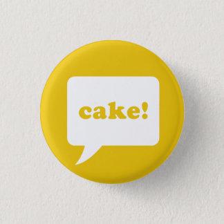 """cake!"" knoop ronde button 3,2 cm"
