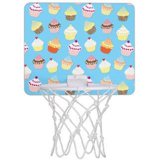 Cakes van de Kop van de bleke Pastelkleur de Mini Basketbalring