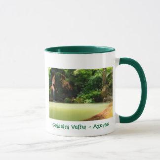 Caldeira Velha - de mok van de Azoren