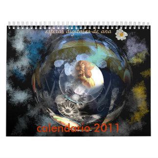 calendario 2011, esferas digitale… kalender