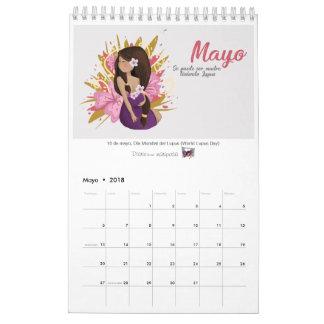 """Calendario 2018 de """"Uitgave van de Wolfszweer """" Kalender"""