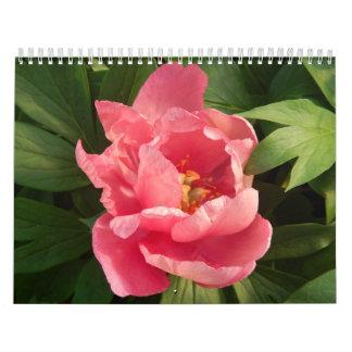 Calendario bedriegt fotografía DE flores Engelse Kalender