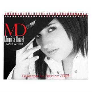 Calendario februari-Dic 2009 Kalender
