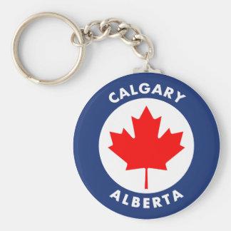 Calgary, Alberta Sleutelhanger