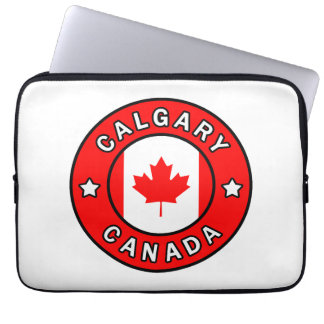 Calgary Canada Laptop Sleeve