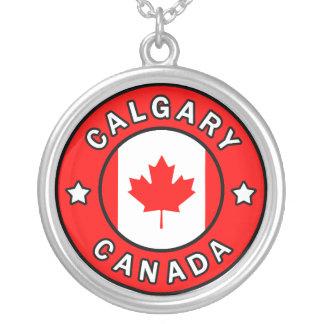 Calgary Canada Zilver Vergulden Ketting