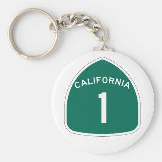 Californië 1 sleutelhanger
