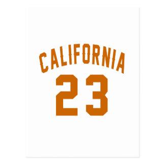 Californië 23 Design van de Verjaardag Briefkaart