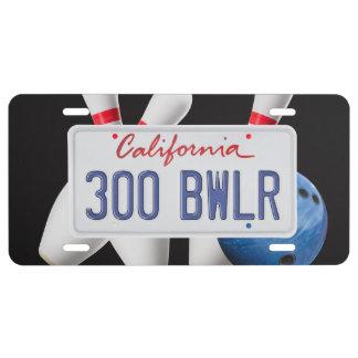 Californië 300 BWLR Nummerplaat