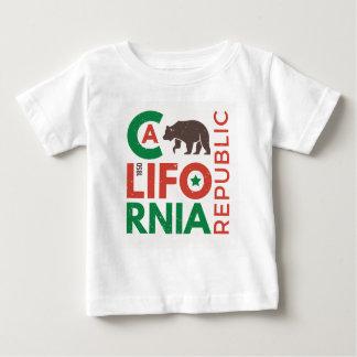 Californië met het Logo van de Grizzly Baby T Shirts