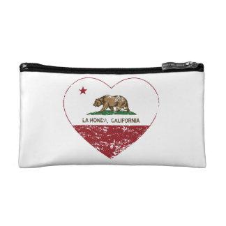Californië verontruste het hart van vlagLa honda