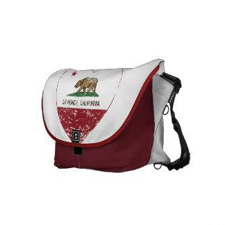 Californië verontruste het hart van vlagLa honda Schooltas