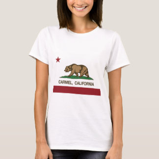 Californië vlag carmel t shirt