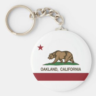 Californië vlag Oakland Sleutelhanger