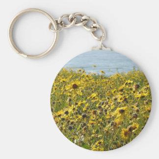 Californië Wildflowers Keychain Sleutelhanger