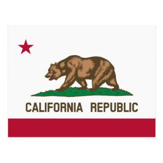Californische vlagbriefkaarten voor de Republiek Briefkaart