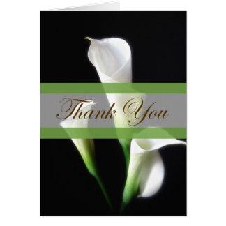 Calla Lelie 3 dankt u Briefkaarten 0