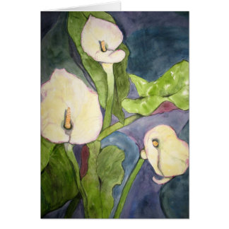 Calla Lillies Briefkaarten 0