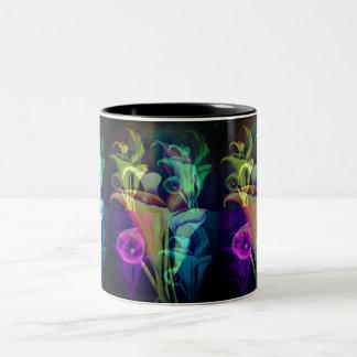 Calla Lillies Tweekleurige Koffiemok
