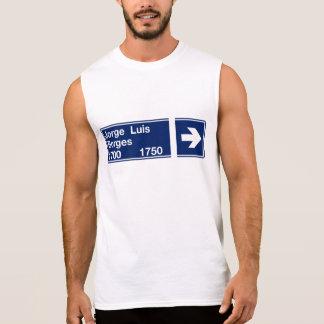 Calle Jorge Luis Borges, het Teken van de Straat T Shirt