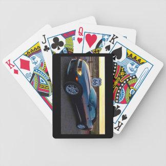 Camaro op Route 66 Poker Kaarten