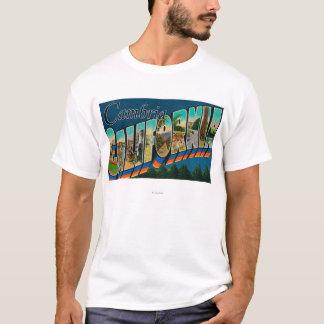 Cambria, Californië - de Grote Scènes van de Brief T Shirt