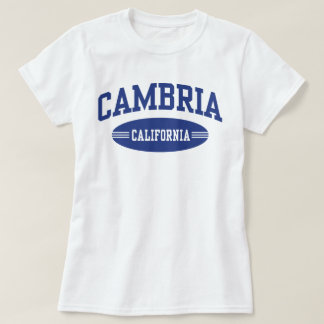 Cambria Californië T Shirt