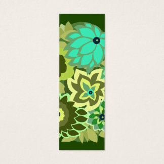 CAMBRIA in Schaduwen van Groen Mini Visitekaartjes