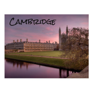 Cambridge, het UK, Briefkaart