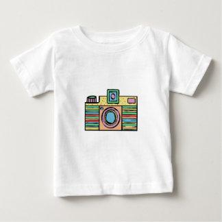 Camera die 1 trekken baby t shirts