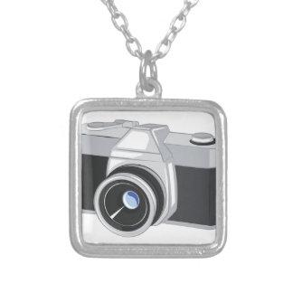 Camera Zilver Vergulden Ketting