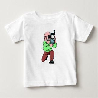 Cameraman Baby T Shirts