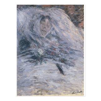 Camille Monet op haar Sterfbed (1879) Briefkaart