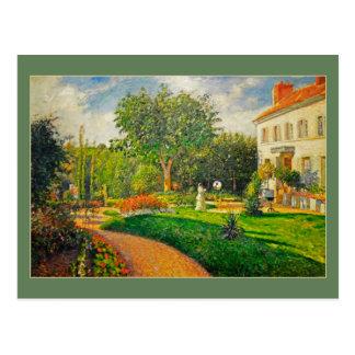 Camille Pissaro Garden van Les Maturins Briefkaart