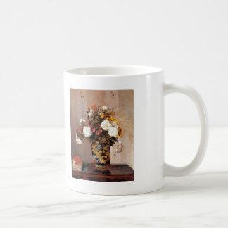 Camille Pissarro- Chrysanthemums In een Chinese Koffiemok