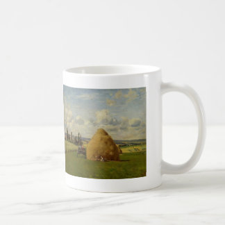 Camille Pissarro- de hooiberg, Pontoise Koffiemok