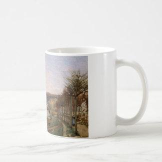 Camille Pissarro - de Zegen in Bougival Koffiemok