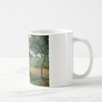 Camille Pissarro - het Effect van het Zonlicht van Koffiemok