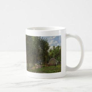 Camille Pissarro- het Huis in het Bos Koffiemok