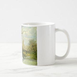 Camille Pissarro - het Meisje van de Gans in Koffiemok
