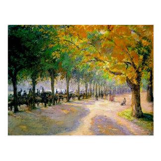 Camille Pissarro- Hyde Park, Londen Briefkaart