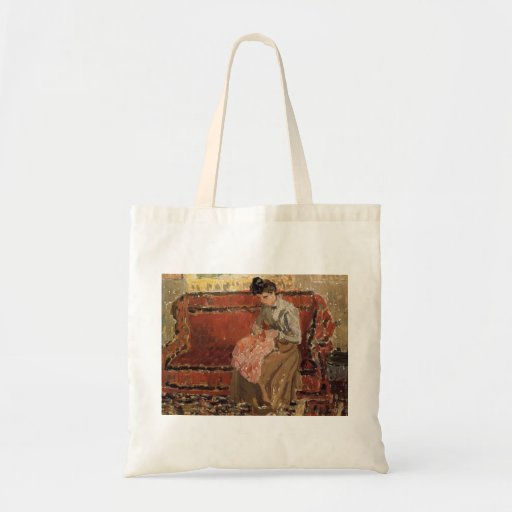 Camille Pissarro- Jeanne Coushant Canvas Tas