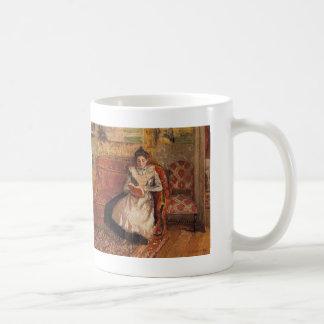 Camille Pissarro- Jeanne Reading Koffiemok