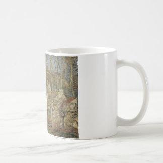 Camille Pissarro - Rode Daken, Hoek van een Dorp Koffiemok