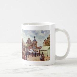 Camille Pissarro- September Feest, Pontoise Koffiemok