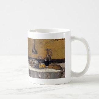 Camille Pissarro- Stilleven Koffiemok