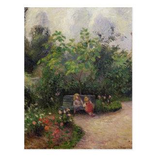 Camille Pissarro | Tuin bij de Kluis Briefkaart
