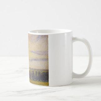 Camille Pissarro - Zonsondergang in Eragny Koffiemok