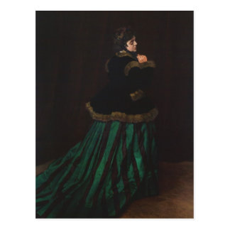 Camille (Vrouw in de Groene Kleding) door Claude Briefkaart