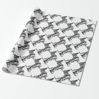 Camo-grijs-Doxie Inpakpapier